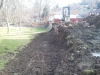 Retaining Wall Preparation South Hills