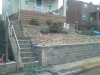 J Bird's retaining wall South Hills