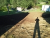 J Birds French Drain Installation Process