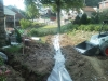 South Hill French Drain Installation