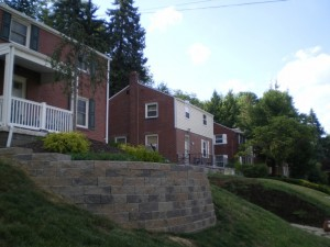 South Hills Retaining Walls
